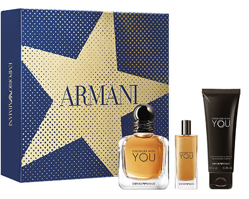 Giorgio Armani Stronger With You EdT Parfymbox